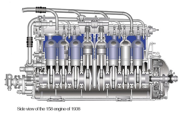 dragon 158 engine profile
