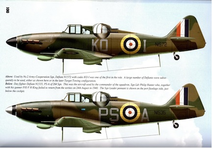 Boulton Paul 3 profiles