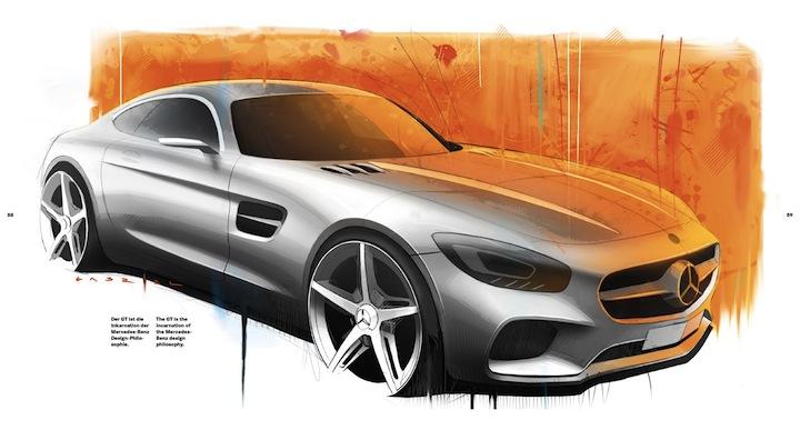AMG GT illo