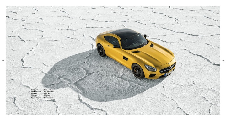 AMG GT salt