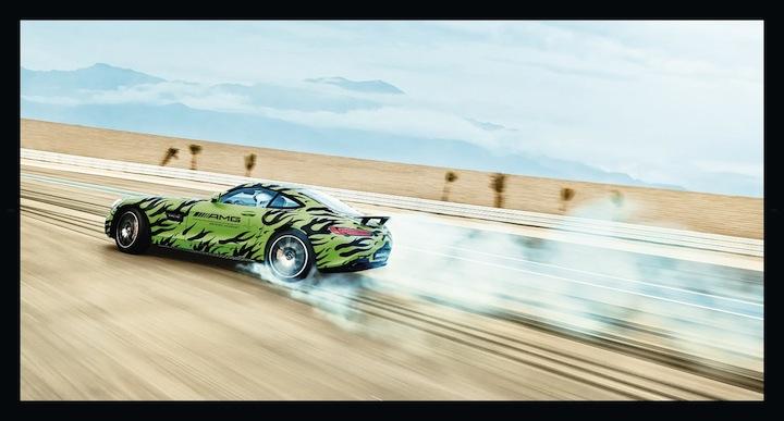 AMG GT test
