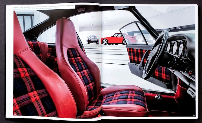 Porsche 911 Turbo seats