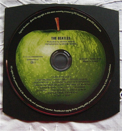 The Beatles CD green