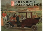 Rolls-Royce Catalogue 1910/11