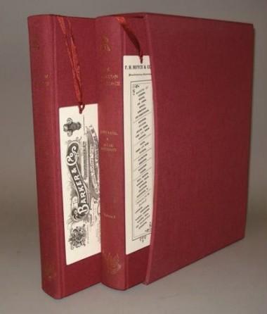 Edwardian bookmarks