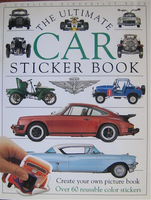The Ultimate Car Sticker Book