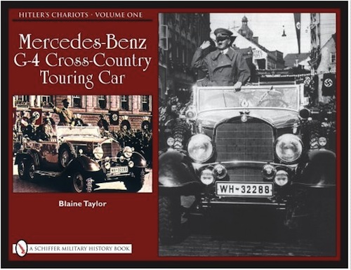 Hitler s chariots vol 1 mercedes benz g 4 cross country for Books mercedes benz