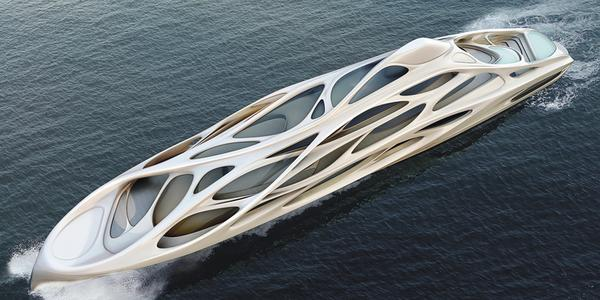Unique Circle Yacht by Zaha Hadid and Blohm + Voss