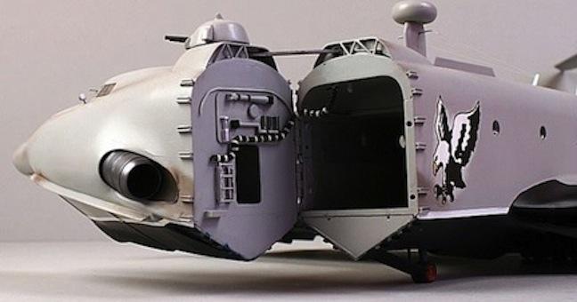 ekranoplans model