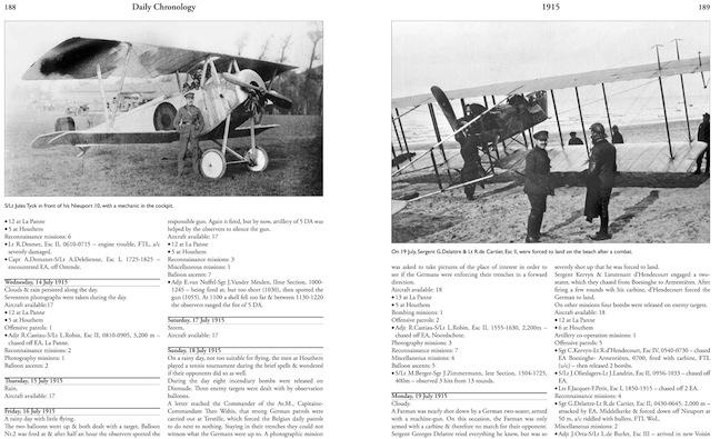 Belgian Air Service log