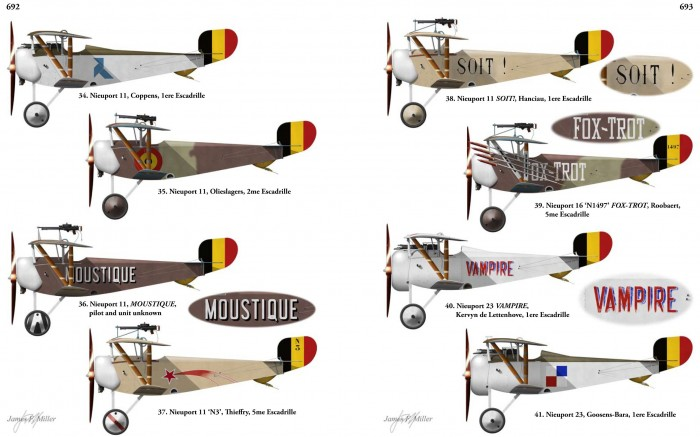 Belgian Air Service profiles