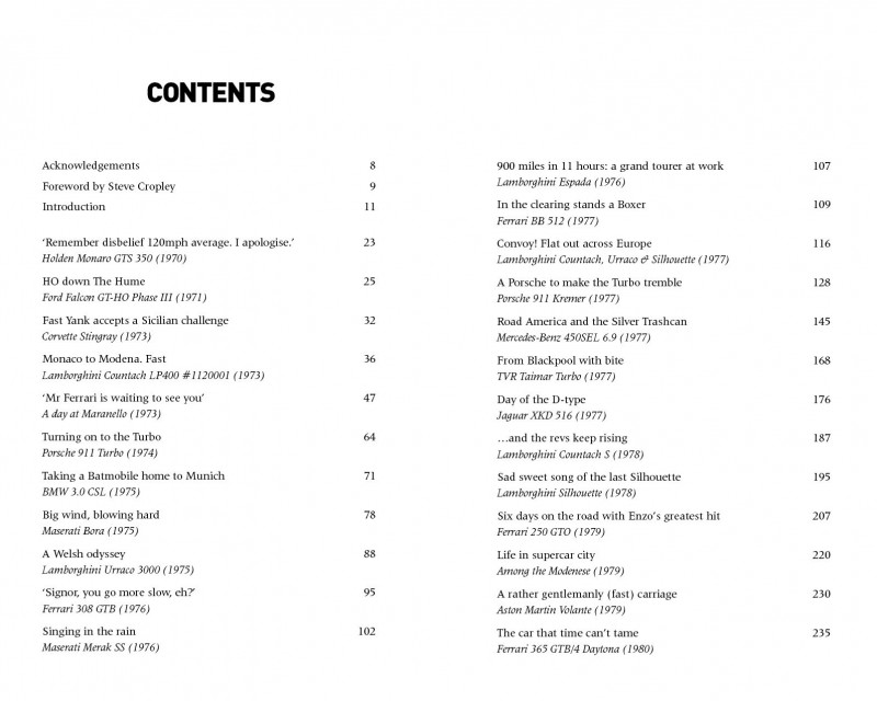 And The Revs toc