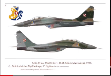 MiG-29 badge