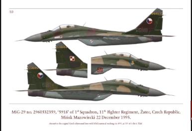 MiG-29 tail