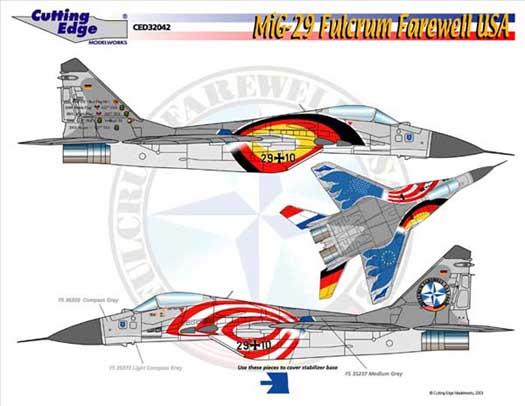 Mig-29 farewell usa