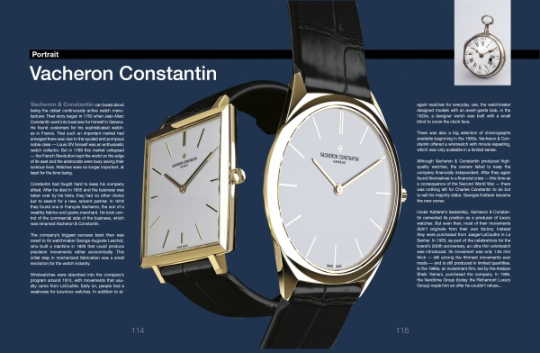 Legendary Wristwatches vacheron
