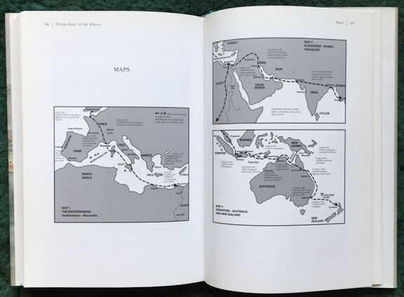 Flying Boats of Empire maps