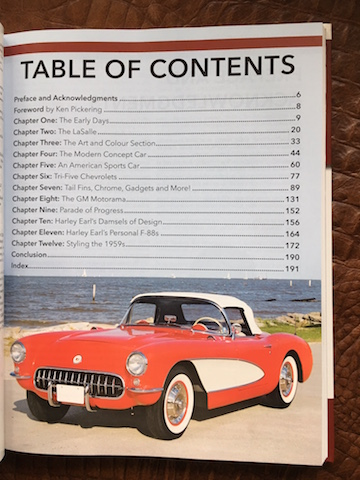Cars of Harley Earl toc