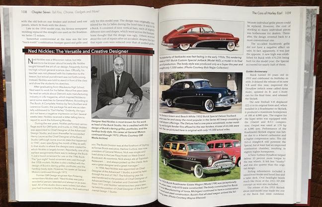 Cars of harley Earl side1